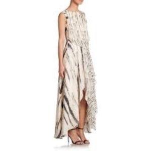 Haute Hippie Woman Draped Silk Gown Beige Size 8 Haute Hippie 3kP2dnC